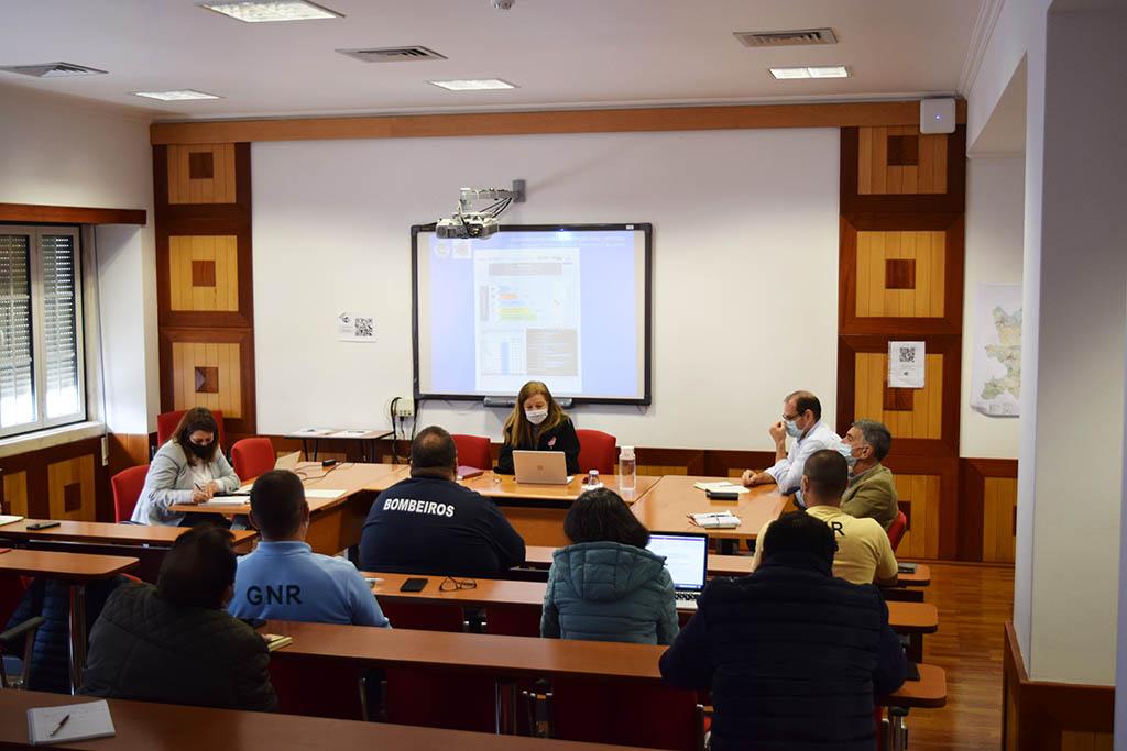 Reunião da Comissão Municipal de Proteção Civil